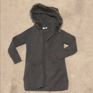 Gap • Gray Hooded Sweater